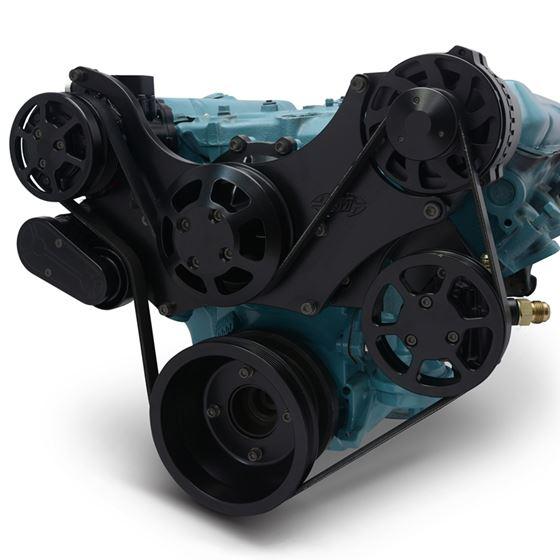 Eddie Motorsports Pontiac 11-Bolt Water Pump Remote Raven