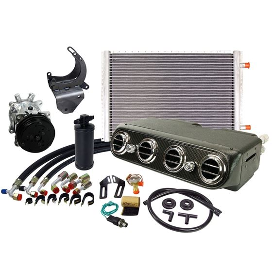 UNDERDASH AC SYSTEM CAP-300HC-CF
