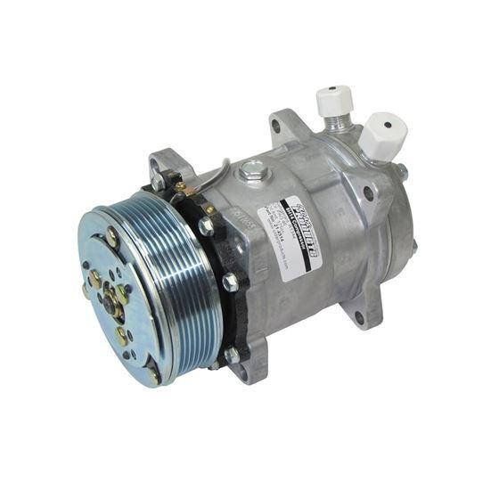 Compressor | Sanden 508 Style | 134a | Vertical O-