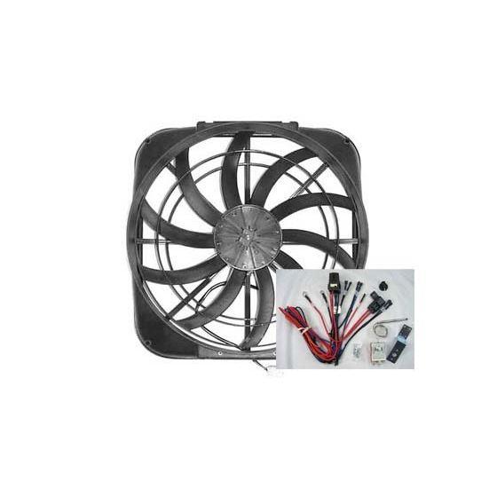 Fan w/ Sensor and Harness 12 Volt 17-1716A