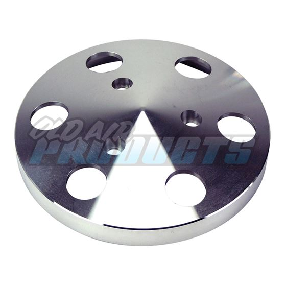 Compressor Clutch Cover Aluminium, Fits Sanden 508