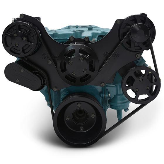 Eddie Motorsports Pontiac 8-Bolt Water Pump Remote Raven
