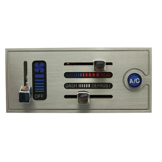 Billet, Horizonal Electronic Slide Control and Hea