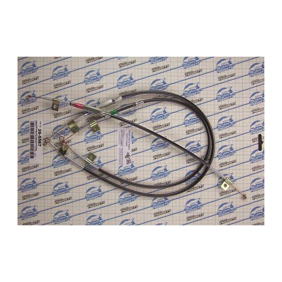 26-5567 - EZ Slider Cable Set | 1967 Pontiac GTO,