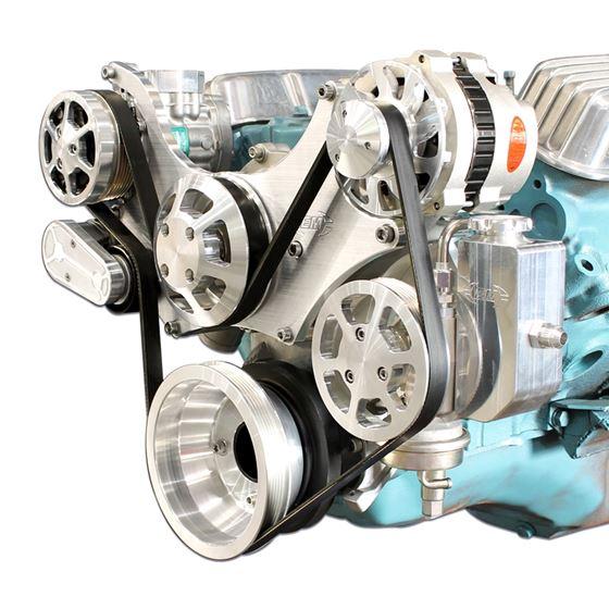 Eddie Motorsports Pontiac 11-Bolt Water Pump Billet