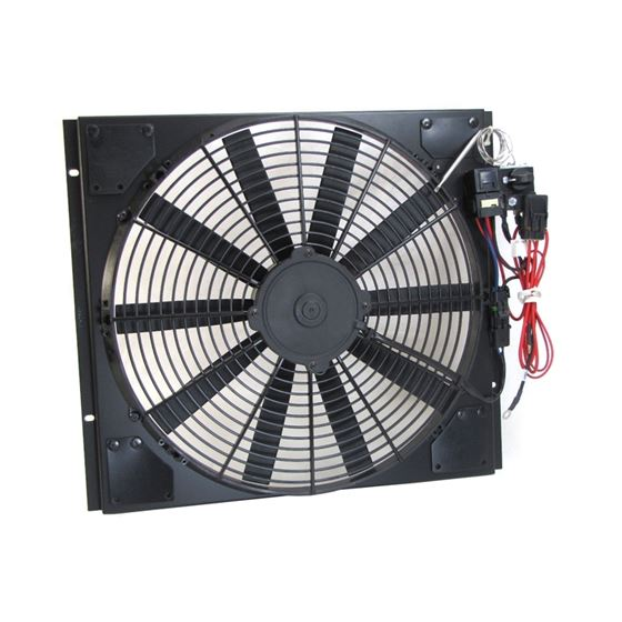 Fan & Shroud Kit for Mustang models with V8 and Stock Radiator