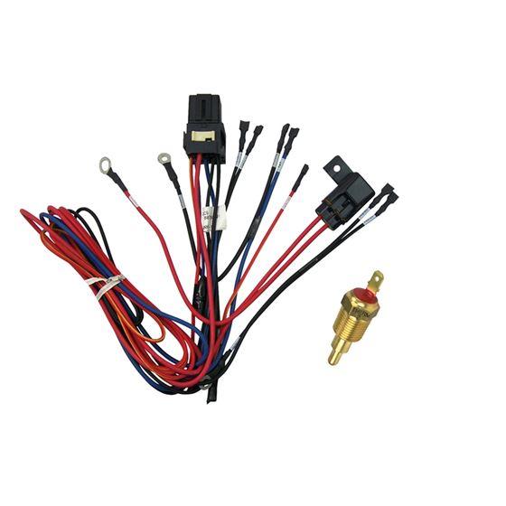 50-0107 - fan wire harness  radiator