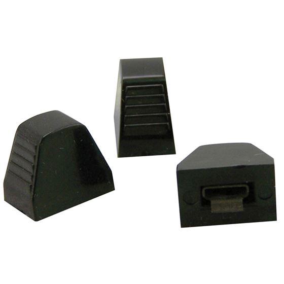Knob, Heater Controls, Black, (Set3) 30-7213B