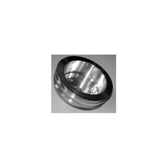 Pulley Aluminum, 2 Groove Crankshaft 101-2CRA