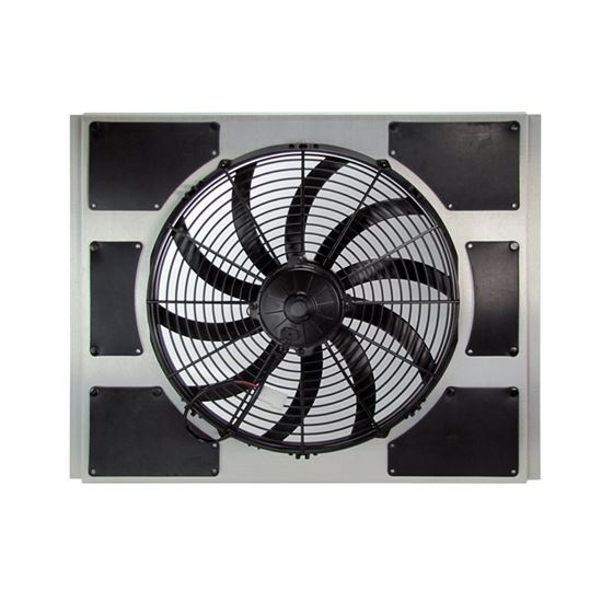 Universal Fit Fan & Shroud Kit with Wire Harness & Thermostat