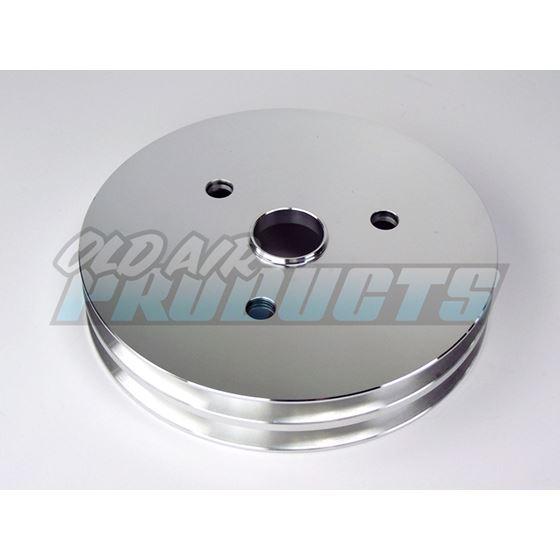 Pulley Aluminum, 2 Groove Crank shaft 100-2CRA