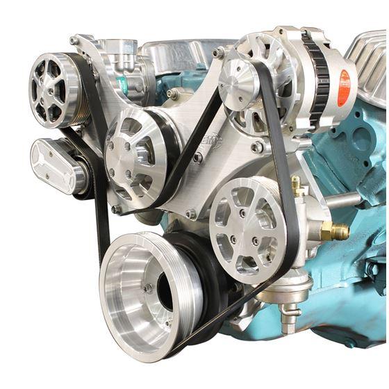 Eddie Motorsports Pontiac 8-Bolt Water Pump Remote